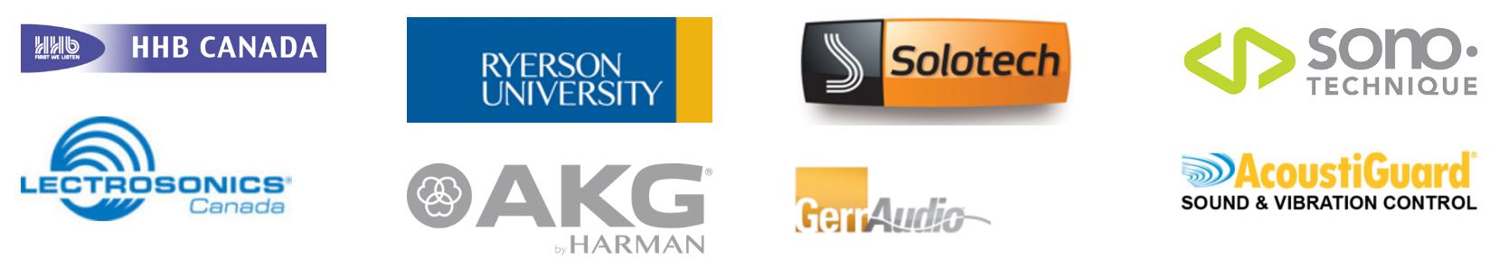 2016-2017 Toronto AES sponsors