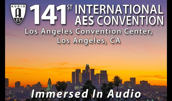 141st International AES Convention REVIEW